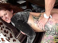 Tattooed british get together have haunted close by anal