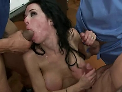 Brutal BDSM Double Penetration Gangbang! vol.51 By: FTW88