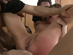 Brutal BDSM Double Penetration Gangbang! vol.53 By: FTW88