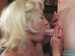 Horny MILF Teaches Ger Son - Cireman