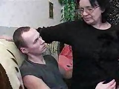 Russian Granny And Boy 081