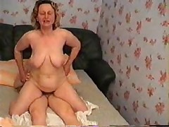 Russian Granny Wants Sex From Young Boy