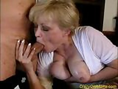 Incongruous grey milf gets fucked hard, Unorthodox Immersing Porn