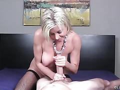 Payton Fortress MILF POV Cock stroking