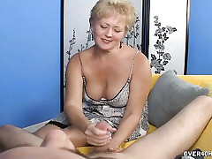 Leader Tracy gave a cock stroking