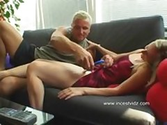 Father fuck daughter in position 69