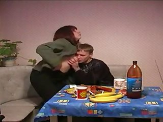 Young lover is fucking a Russin mom