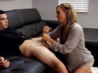 A son getting sexual help