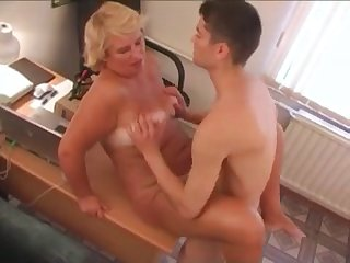 Slutty mother and son