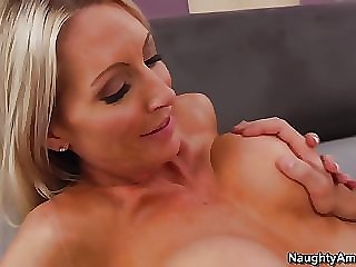 Hot Emma waked up from a cock