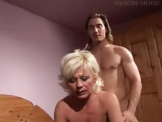 Hot German Mom With Her Smooth Pussy