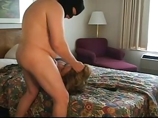 Woman forced to suck and fuck