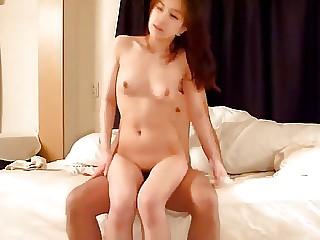 Korean harlot getting screwed