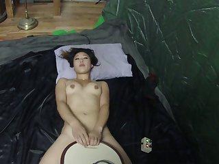 Ywonsun Rides the Sybian