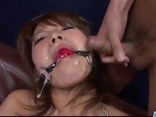 Sensual Japanese milf,Akiho Nishimura, pumped hard