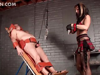 Kinky dude goes to extremes and gets tortured