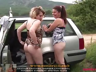 amateur outdoor swinger party