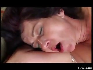 Granny Outdoor Anal Sex