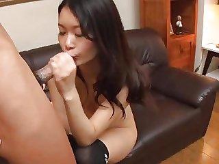 Japanese Cutie Gets Bangedja
