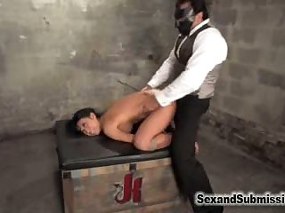 Bound Asian subjected