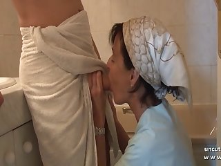 Sexy MILFs with young sons incest vids