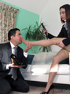 20 of Lady Boss Foot Reprimand