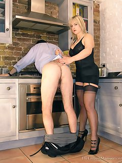 <!–-IMAGE_COUNT-–> of Domestic Femdom