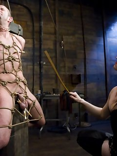12 of Claire Adams dominates slave boy and fucks his ass