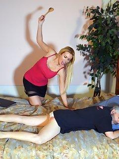 <!–-IMAGE_COUNT-–> of Landlord Gigi Allens Spanks Her Tenant Again