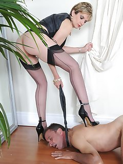 <!–-IMAGE_COUNT-–> of Slave on his knees
