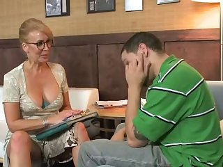Mature moms video boys