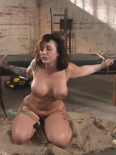 33 of Idle Hands: Ivy LeBelle gets tied up and fucked by Small Hands